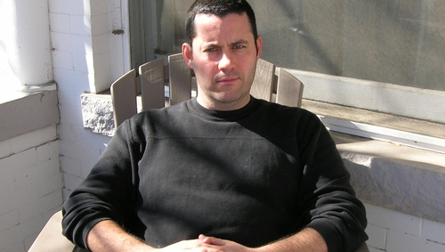 Adrian McKinty is currently second in the public vote