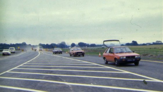 Curragh Dual Carriageway Opens (1984)