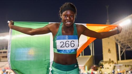 Dubliner Rhasidat Adeleke already has one gold medal in the bag