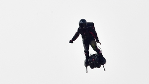 Franky Zapata hoped to reach to Dover from Sangette, France in about 20 minutes, flying at speeds up to 140kmph