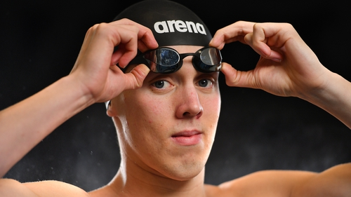 Darragh Greene secured his Olympic qualification time earlier this week