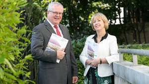 Dr Alison Campbell, Director of Knowledge Transfer Ireland and Paul O'Toole, CEO of the Higher Education Authority