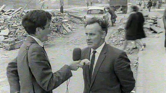 Pat Sweeney interviews Paddy Doherty in the Bogside, Derry (1 September 1969)
