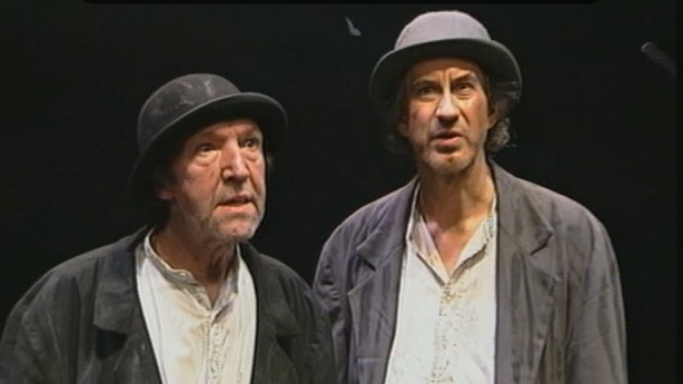Actors Performing in Waiting For Godot