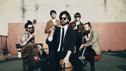 Fontaines DC are shortlisted for this year's Mercury Prize
