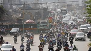 Hanoi, where seven tiger carcasses were found