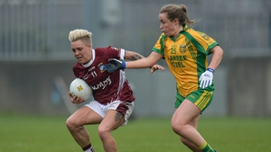 Kate Keeney of Donegal in action against Westmeath