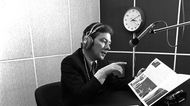 Tributes paid to veteran Irish broadcaster Gay Byrne