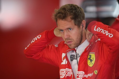 Sebastian Vettel is struggling to enjoy life at Ferrari
