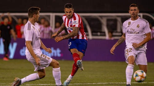 Vitolo Machin finds the net for Atletico Madrid