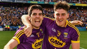 Shane Reck (R) and Shaun Murphy has both been named to start in the Wexford defence