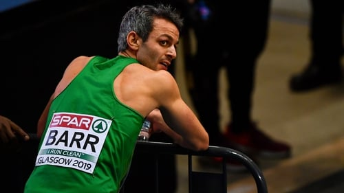 Thomas Barr is not taking any risks ahead of World Athletics Championships