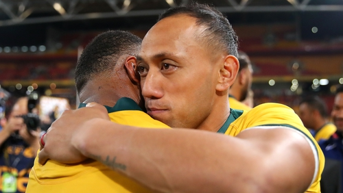 Lealiifano kicked 11 points for the Wallabies in Brisbane
