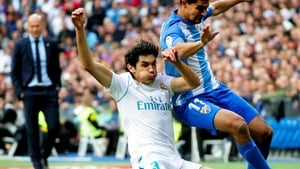 Vallejo in action for Madrid
