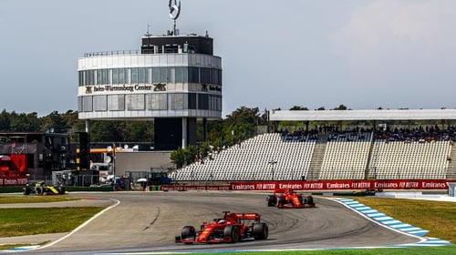 It was a bad day for Ferrari in Germany