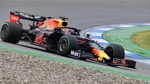 Verstappen stopped five times during the race