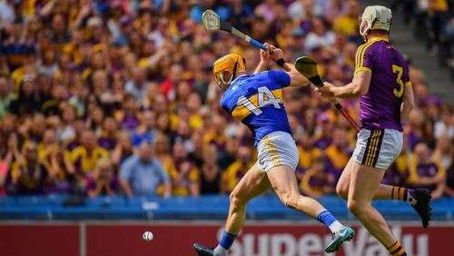 Callanan winds up to score his goal against Wexford