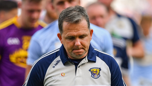 Fitzgerald has been in charge of Wexford for three years