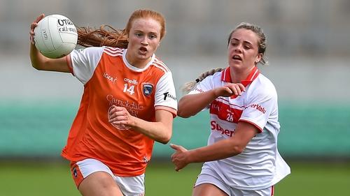 Mackin gets away from Cork's Chloe Collins