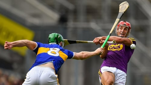 Noel McGrath got in the hooks and blocks as well as scoring points