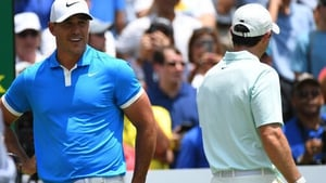 Brooks Koepka finished five shots clear of McIlroy