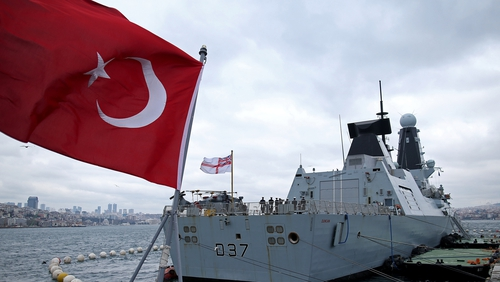 HMS Duncan was sent to escort tankers in the Persian Gulf