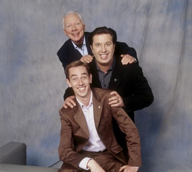 Gay Byrne, Gerry Ryan and Ryan Tubridy