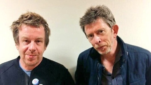 Kevin Barry (left) joined John Kelly (right) on RTÉ lyric fm's Mystery Train