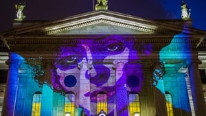 Countess Markievicz by Jim Fitzpatrick, presented as part of the Herstory Light Festival