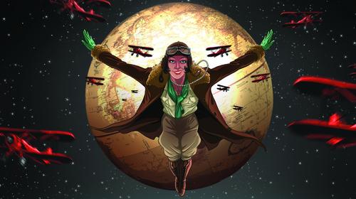 Aviator Lady Mary Heath (Illustration: Sean Branigan)