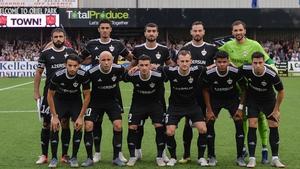 Qarabag drew 1-1 in Dundalk