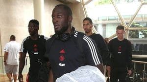 Lukaku has played no part in United's pre-season games