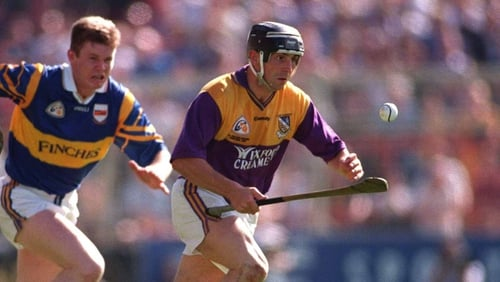 O'Gorman playing against Tipperary in 1997
