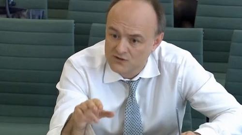 Dominic Cummings, the man many think to be behind Boris Johnson