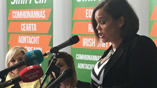 Mary Lou McDonald said many in NI are open to discussing Irish unity