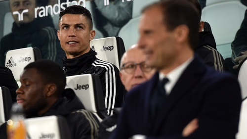 Cristiano Ronaldo stayed on the bench in Korea