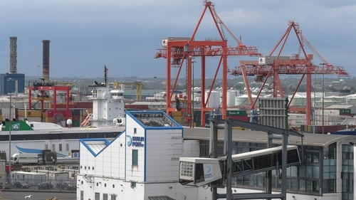 Dublin Port accounted for 73.6% of all vessel arrivals in Irish ports in the first three months of the year