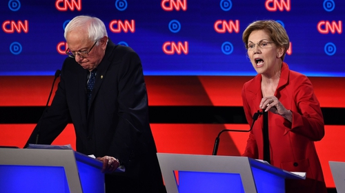 Bernie Sanders and Elizabeth Warren were criticised for their liberal policies