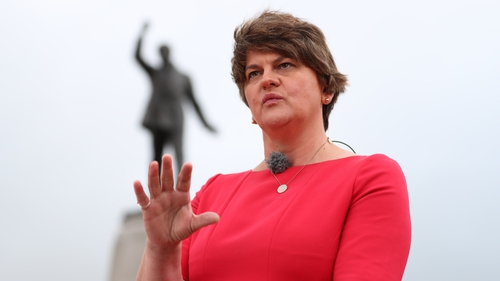 DUP leader Arlene Foster insists the party will not support any arrangements that create a barrier to East West trade