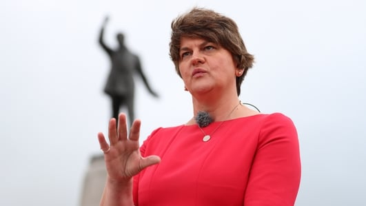 Arlene Foster warns over Northern Ireland backstop