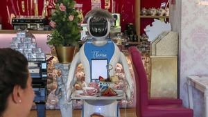 The restaurant owner said the robot is there to help staff, not replace them
