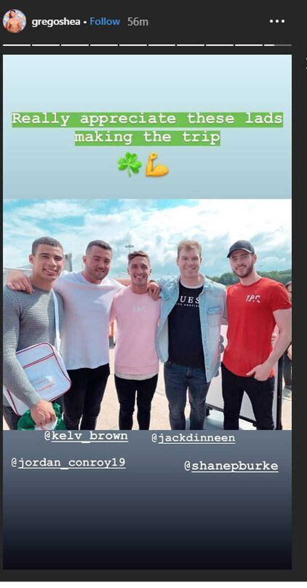 Greg O'Shea Instagram