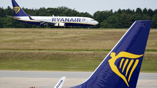 "Despite passenger claims to the contrary, Ryanair issued a statement to say that ""coaches were organised"""