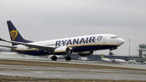 Ryanair said Boeing is carrying out repairs on behalf of the airline