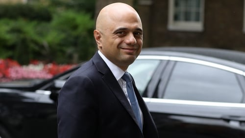 Finance minister Sajid Javid said 'it's vital that we intensify our planning' for Brexit