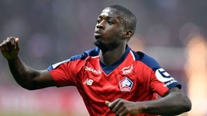 Lille's Ivorian forward Nicolas Pepe looks set for a move to the Emirates