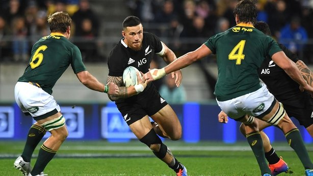Sonny Bill Williams failed to make an impact against South Africa