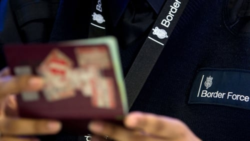 250 new Border Force officials are expected to be in place by the end of October