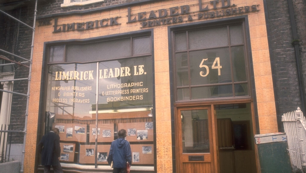 The Limerick Leader offices, O'Connell Street, Limerick (1976)
