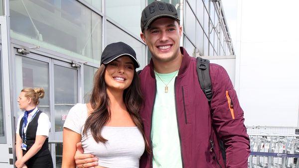 Love Island duo Maura and Curtis